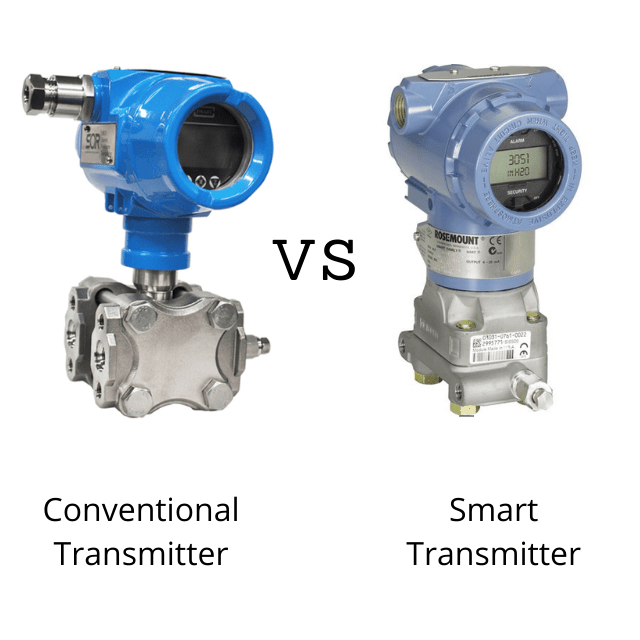 Conventional vs Smart Transmitter