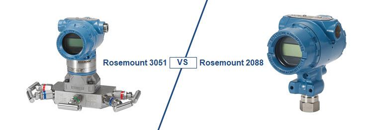rosemount 3051 vs 2088